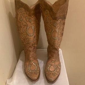 Diamond Cow Girl Boots 💋💋